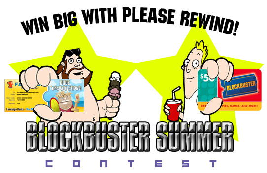 Please Rewind Blockbuster Sunner Contest